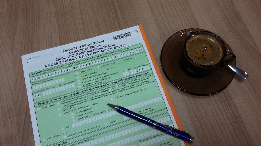Szlovák ÁFA DPH regisztráció