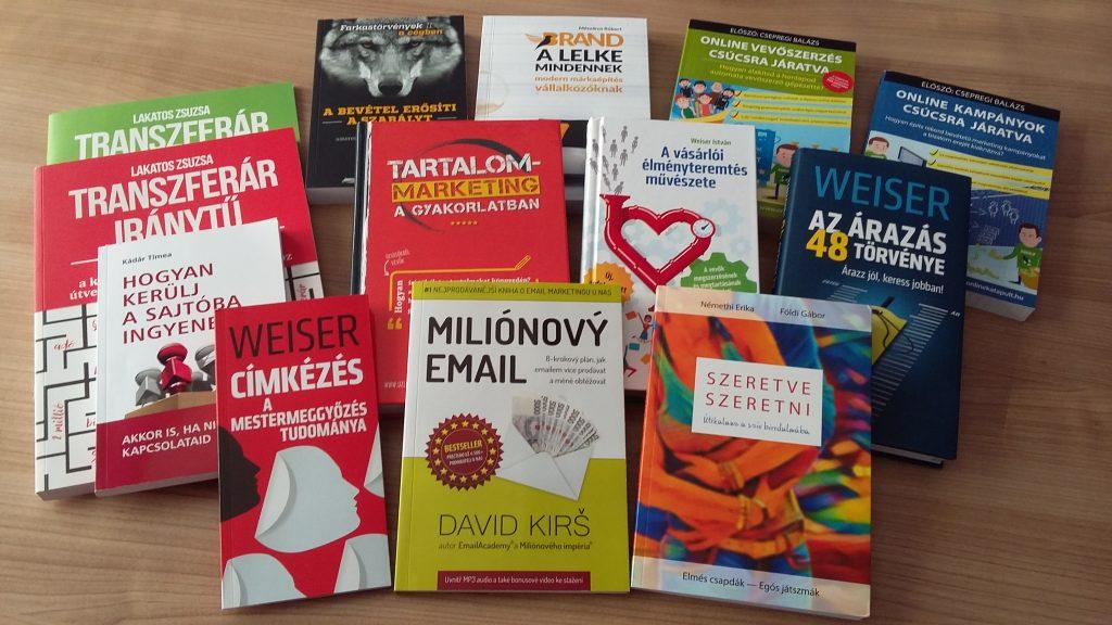 Könyv vagy e-könyv értékesítés