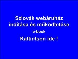 Szlovák webáruház